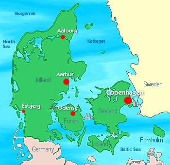 Denmark - Denmark Facts - Destination Denmark - Denmark ... on scandinavia map, slovak republic map, english channel map, the netherlands map, holland map, united kingdom map, faroe islands, france map, eastern hemisphere map, israel map, ireland map, russia map, poland map, kenya map, spain map, europe map, czech republic, korea map, germany map, nordic countries map, brunei darussalam map, ghana west africa map,