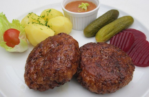 "Danish Food Culture - Recipes - ""Frikadeller"" - Damish Pork Meatballs"
