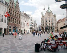 Strøget - The world's longest Pedestrian Street - Copenhagen