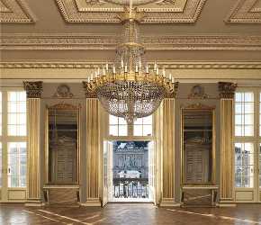 Amalienborg Interior After the renovation of King
